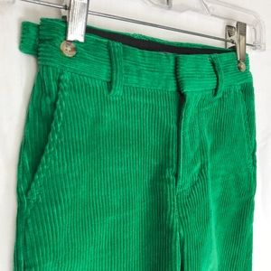 Polo wide whale cord for the little leprechaun. 4T